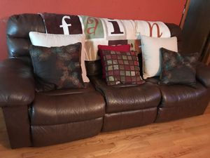 sectional sofa leather for Sale in Chicago, IL