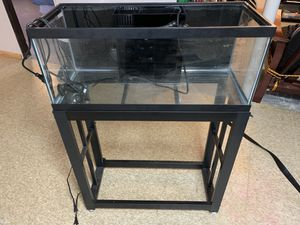 20 Gallon Long AIO Tank/Stand for Sale in Chicago, IL