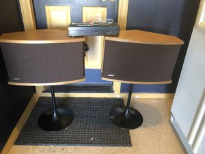 BOSE 901 Speakers, $500, the speakers go for $500, plus you get the stands , $100 a piece, and the Equalizer was $200, All for $500 for Sale in Visalia, CA