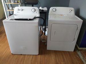 Amana Washer and Dryer for Sale for Sale in Jacksonville, FL