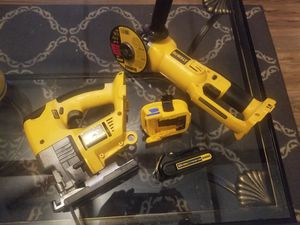 Dewalt cordless grinder and jigsaw for Sale in Goodlettsville, TN