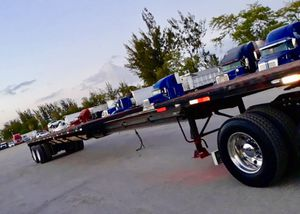 """Fontain stretch trailer 1990 45''×96"""",opens up to 75', for Sale in Pembroke Pines, FL"""