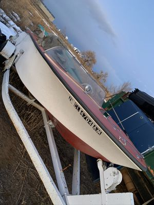 Project Boat with Engine and trailer for Sale in Windsor, CO