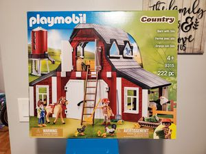 Playmobile farm and silo set for Sale in The Bronx, NY
