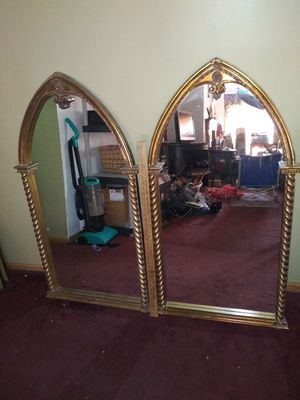 Antique vintage matching set of mirrors beautiful for Sale in Chesterfield, VA