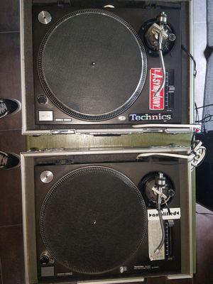 Technics 1200 turntables dj for Sale in New Port Richey, FL