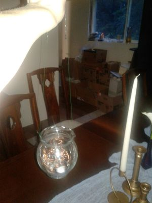 48 $1 each small round vases, fairy lights, 12 bud vases wedding for Sale in Black Diamond, WA