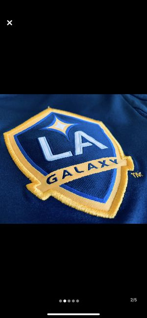 ADIDAS Los Angeles Galaxy Official Training Shirt circa 2015 Blue Navy for Sale in Los Angeles, CA