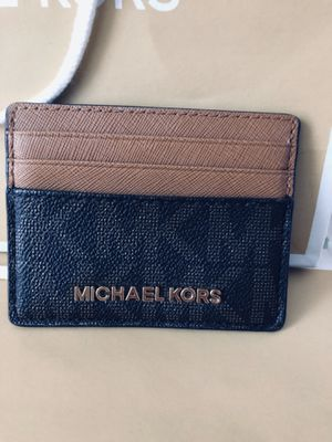 Michael KORS Credit Card Holder ~ PreLoved But In PRISTINE CONDITION Asking $20 for Sale in Sudley Springs, VA