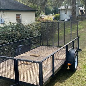 Like New trailer 6x12 No Issue Everything Work for Sale in Deltona, FL