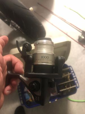 Shimano TX 1000 spinning real quick fire for Sale in Boca Raton, FL