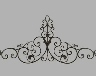 Archer scrollwork metal wall decor for Sale in Apopka,  FL