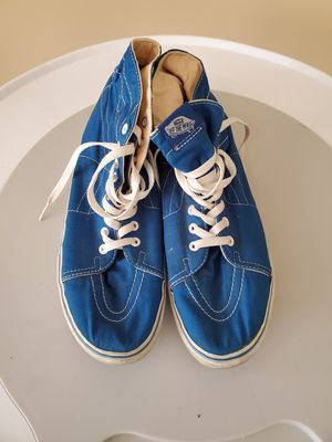 Mens Size 11 Blue Vans for Sale in Columbia, SC
