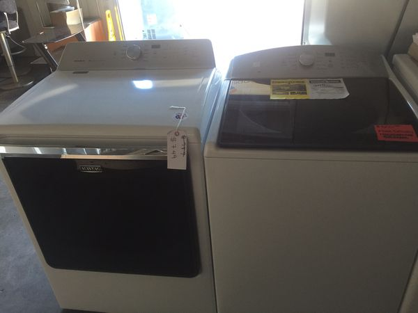 Maytag Washer and kenmore gas dryer