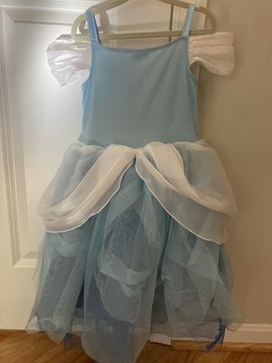 Disney Cinderella dress 4yrs for Sale in Potomac, MD