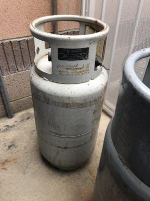 (2) Forklift propane bottles $75.00 each full of propane for Sale in Anaheim, CA