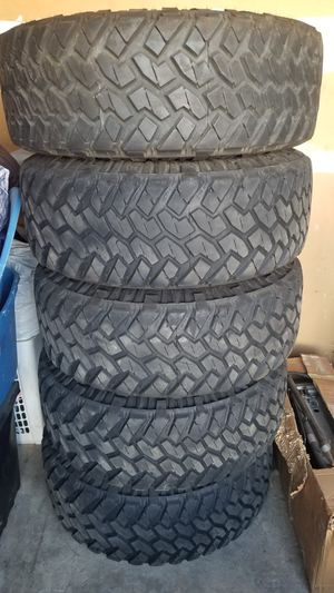 Wheels and Tires Nitto Terta Grapplers M/T 37x12.5x17 for Sale in Ontario, CA