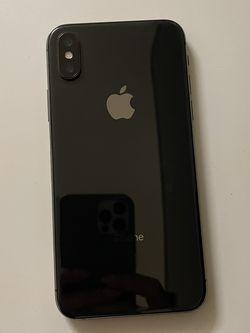 Black Iphone X - 64gb for Sale in Placentia,  CA