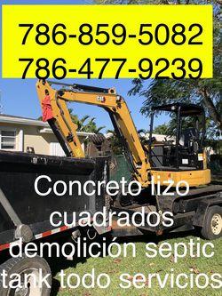 Excavadora Mini Excavator Bobcat And Volteo.)✅(((.demolición Servic,ios.)))✅✅✅.!!!. for Sale in Miami,  FL
