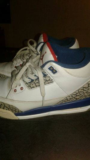 Jordan3 true blue for Sale in Fort Worth, TX