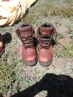 Work boots just used 4 times for Sale in Denver, CO
