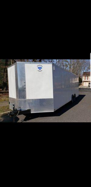 2019 diamond cargo trailer 8.5x24 10k lb.....best offer?? for Sale in Monroe Township, NJ