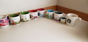 Starbucks state and city mugs for Sale in Lake Stevens, WA