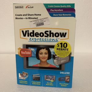 VideoShow Expressions Deluxe for Sale in Plymouth, MN