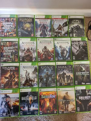 Xbox 360 games for Sale in Clovis, CA