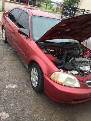 Honda civic 99 en muy buena condicion for Sale in Tulsa, OK