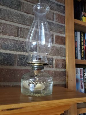 Old Oil Burning Lamp for Sale in Colorado Springs, CO