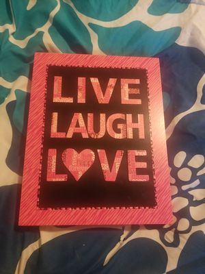 Live -Laugh-Love wall hanging for Sale in Denver, CO
