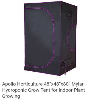 Apollo horticulture hydroponic grow tent for Sale in Washington, DC