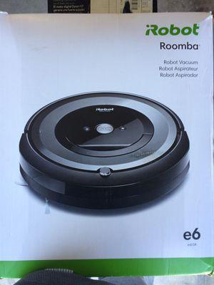 I robot roombata e6 wi fi vacuum for Sale in Manhattan Beach, CA