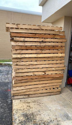 Free solid oak shipping pallets for Sale in Norfolk, VA