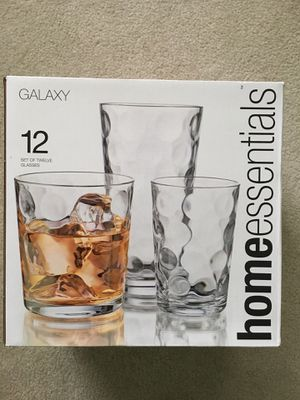 Set of Galaxy Home Essentials Glassware for Sale in Silver Spring, MD