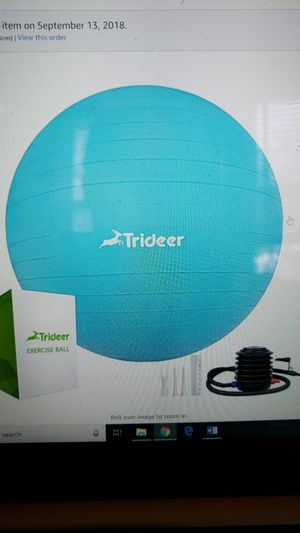 XL Exercise Ball for Sale in Washington, DC