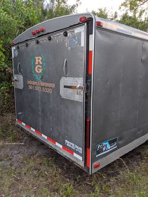 8x30 Cargo trailer for Sale in Sebastian, FL