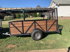 5 x 10 trailer with metal floor for Sale in Mooresville, NC