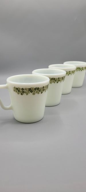 4 Vintage Pyrex Spring Blossom Coffee Cups for Sale in Phoenix, AZ
