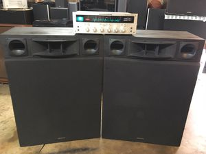 MARANTZ VINTAGE STEREO FEATURING KENWOOD HIGH END PAIR OF 700 WATTS SPEAKERS !! for Sale in West Covina, CA