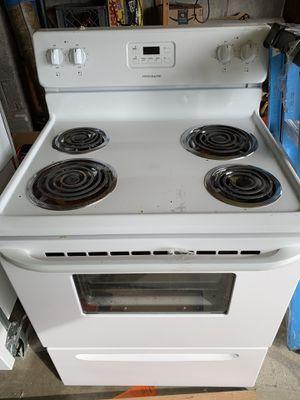 White appliance set- refrigerator, microwave, dishwasher, range for Sale in Seattle, WA