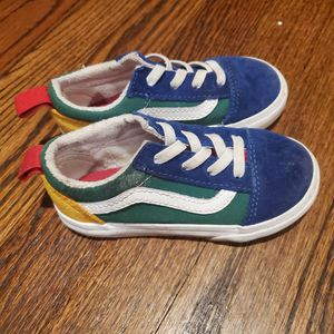 Toddler vans size 7.5 for Sale in Baltimore, MD