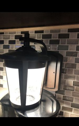 Outdoor wall light brand new 2 in box and 1 without the box but brand new too regular price $95 plus asking $65 each for Sale in South Gate, CA
