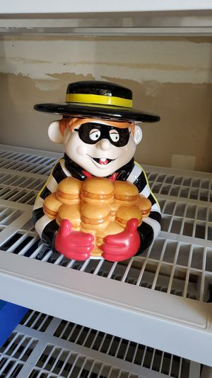Hamburglar highly collectible cookie jar for Sale in Fresno, CA