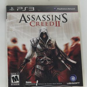 Assassin's Creed II PlayStation 3 PS3 for Sale in Taunton, MA