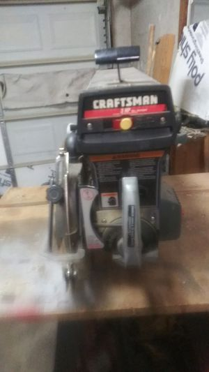 Craftsman radio arm saw for Sale in Norfolk, VA