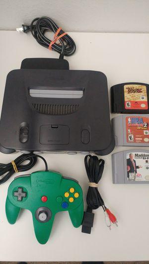 N64 bundle for Sale in San Diego, CA