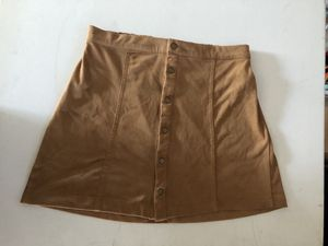 Brown skirt size small for Sale in Whittier, CA