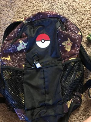 Pokemon backpack for Sale in Redlands, CA